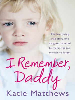cover image of I Remember, Daddy
