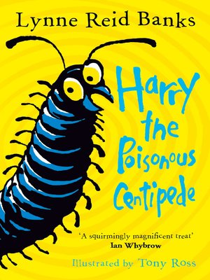 cover image of Harry the Poisonous Centipede