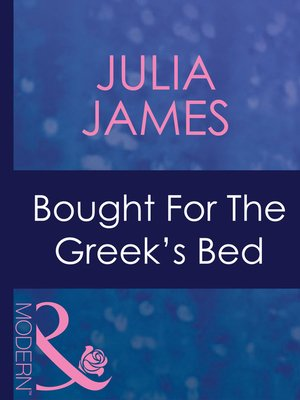cover image of Bought for the Greek's Bed