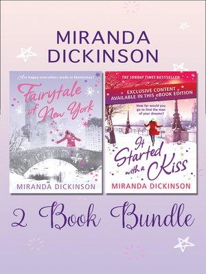 cover image of Miranda Dickinson 2 Book Bundle