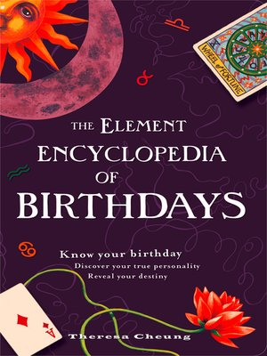 cover image of The Element Encyclopedia of Birthdays