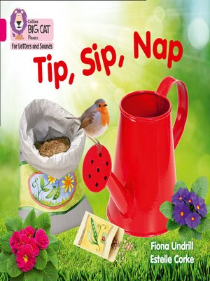 cover image of Collins Big Cat Phonics for Letters and Sounds – Tip, Sip, Nap