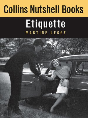 cover image of Etiquette (Collins Nutshell Books)
