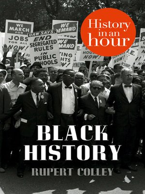 cover image of Black History in an Hour