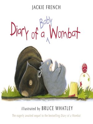 cover image of Diary of a Baby Wombat