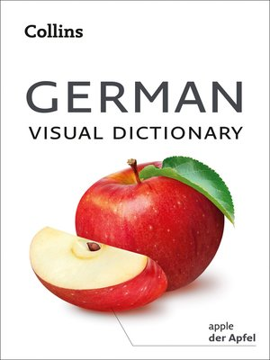 cover image of German Visual Dictionary