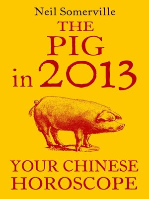 cover image of The Pig in 2013