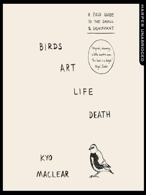 cover image of Birds Art Life Death