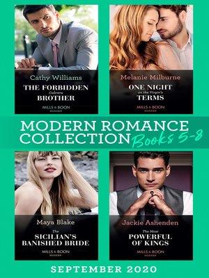 cover image of Modern Romance September 2020 Books 5-8