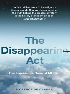 cover image of The Disappearing Act