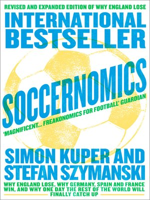 cover image of Soccernomics