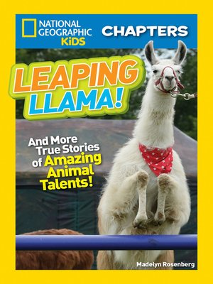 cover image of National Geographic Kids Chapters - Leaping Llama