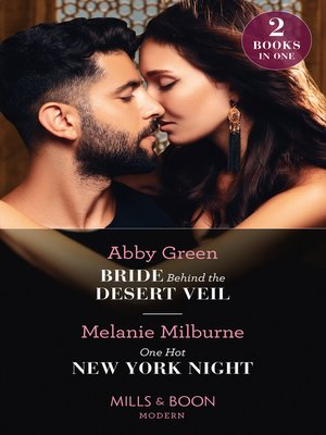 cover image of Bride Behind the Desert Veil / One Hot New York Night