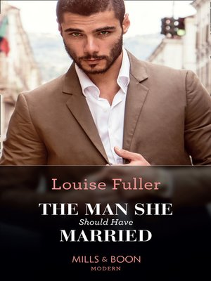 cover image of The Man She Should Have Married