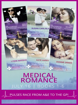 cover image of Medical Romance July 2016, Books 1-6