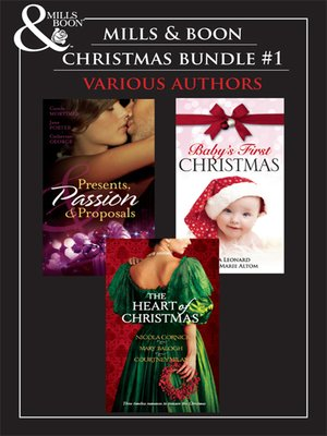 cover image of Mills & Boon Christmas Trio Bundle #1