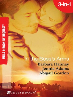 cover image of In the Boss's Arms