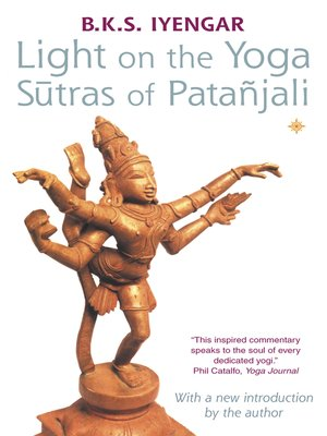 cover image of Light on the Yoga Sutras of Patanjali