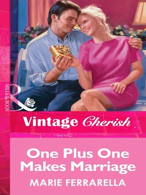 cover image of One Plus One Makes Marriage