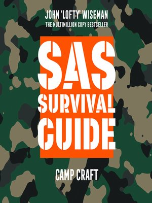 cover image of SAS Survival Guide – Camp Craft