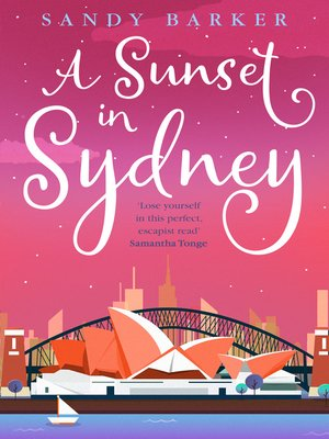cover image of A Sunset in Sydney