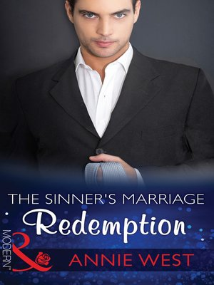 cover image of The Sinner's Marriage Redemption