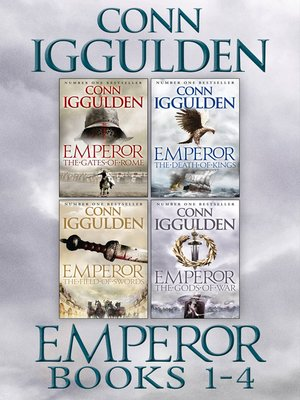 cover image of The Emperor Series Books 1-4