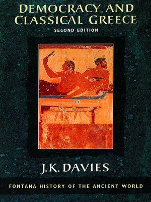 cover image of Democracy and Classical Greece (Text Only)