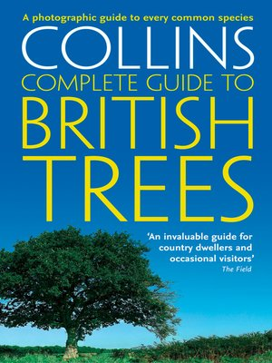 cover image of Collins Complete Guide to British Trees