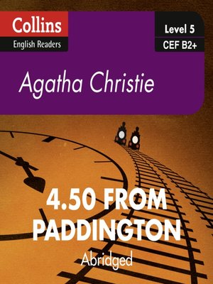 cover image of 4:50 From Paddington - Collins ELT Readers B2