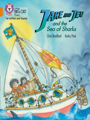 cover image of Collins Big Cat Phonics for Letters and Sounds – Jake and Jen and the Sea of Sharks