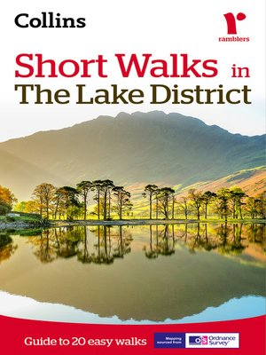 cover image of Short walks in the Lake District