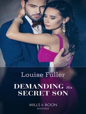 cover image of Demanding His Secret Son