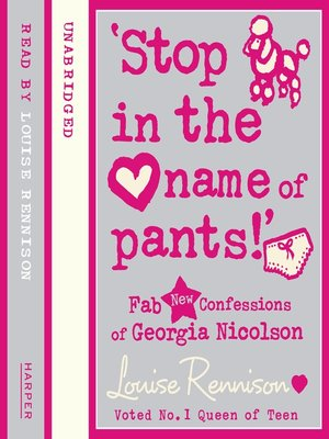 cover image of Stop in the Name of Pants!