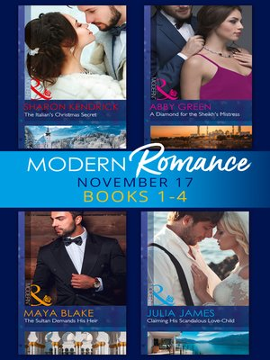 cover image of Modern Romance Collection: November 2017 Books 1--4