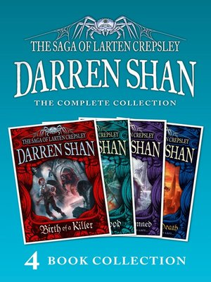 cover image of The Saga of Larten Crepsley 1-4