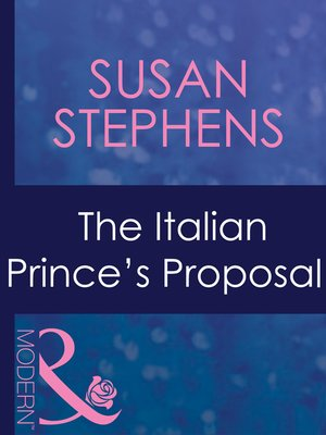 cover image of The Italian Prince's Proposal