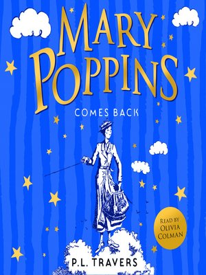 cover image of Mary Poppins Comes Back