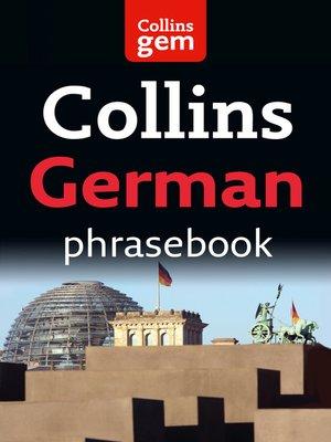 cover image of German Phrasebook