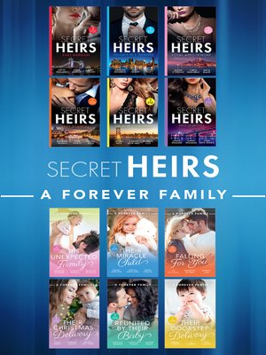 cover image of Secret Heirs and a Forever Family