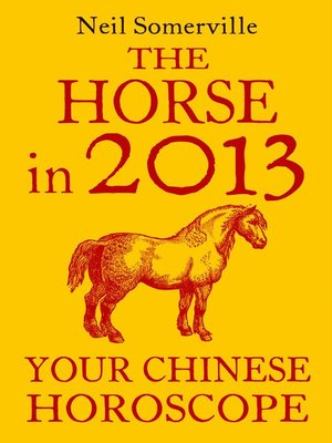 cover image of The Horse in 2013