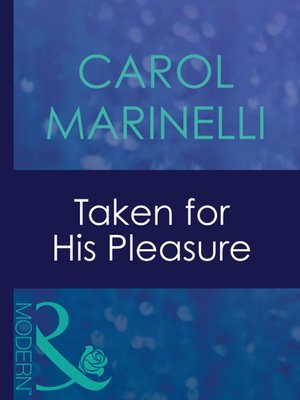cover image of Taken for His Pleasure