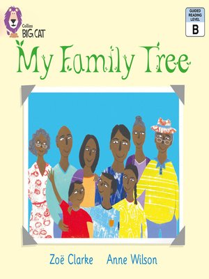 cover image of Collins Big Cat – My Family Tree