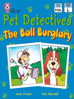 cover image of Collins Big Cat – Pet Detectives