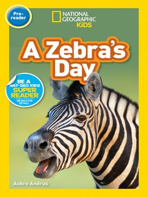 cover image of A Zebra's Day