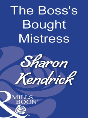 cover image of The Boss's Bought Mistress