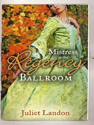 cover image of Mistress in the Regency Ballroom