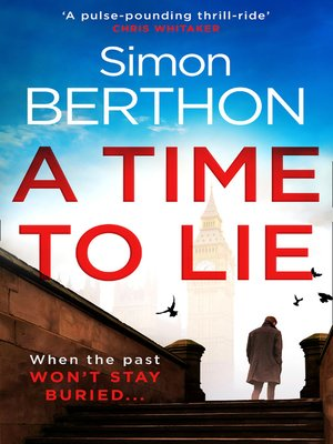 cover image of A Time to Lie