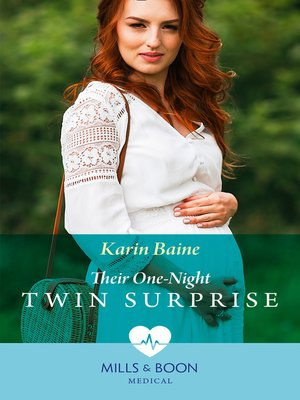 cover image of Their One-Night Twin Surprise