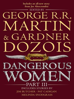 cover image of Dangerous Women, Part 3